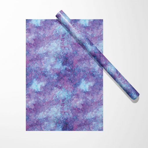 Produktfoto. Geschenkpapier Aqua Swirl